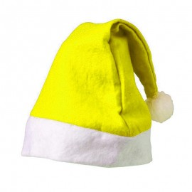 Gorro Natal Amarelo