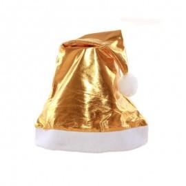 Gorro Natal Dourado